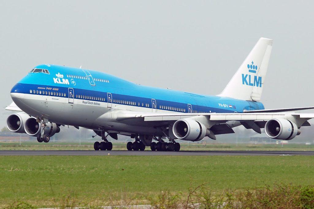 confirmar vuelo con KLM Airlines