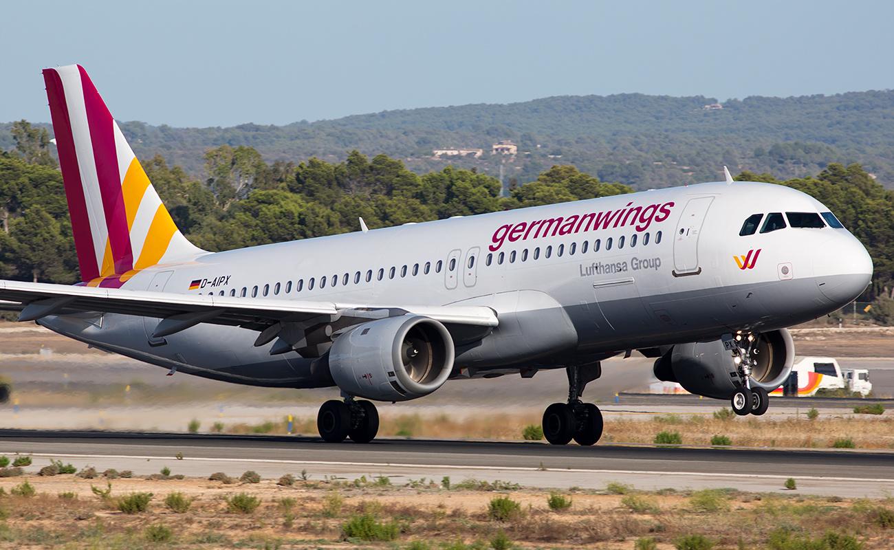 confirmar vuelo con Germanwings